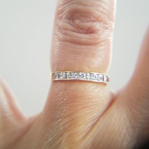 Jewelry - Dainty 2mm 14k Yellow gold Wedding Band